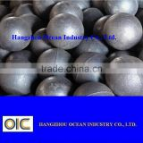 cast grinding media balls/hot rolling/forged steel balls for ball mill