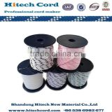High Quality 4mm Colored Nylon Diamond Braided Rope