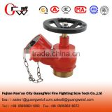sn65 fire hydrant valve used for indoor fire hydrant system with fire hydrant hose and cabinet