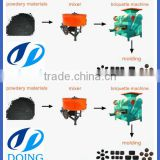 Process coal, carbon, powder to briquette machine, briquette making machine, carbon black briquette machine