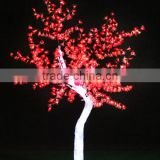 Home garden decorative 230cm Height outdoor artificial red flashing LED solar lighted up trees EDS06 1421