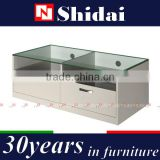 tempered glass tv table, glass table lcd tv mount, tempered glass lcd tv table E-131