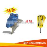 Hydraulic ripper excavator mount vibro hammer with spare parts