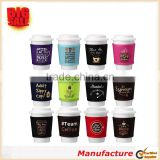 2017 Newest Design Mixed Color Design Practical Cup Sleeve Insulated Coffee Cup Sleeve Neoprene Cup Sleeve