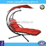 Leisure hanging chair patio garden chair swing lounger