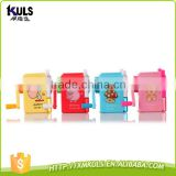 School supplies windmills cartoon hand plastic pencil sharpener