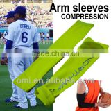 Polyester Spandex Custom Compression Arm Sleeves