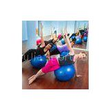 Anti-Explosion PVC Yoga Exercise Ball / Fitness Yoga Ball For Sports , ODM OEM