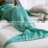 high quality new design mermaid tail blanket adult