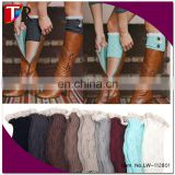 wholesale lace knit crochet women leg warmers & boot cuffs