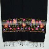 Fashion embroidered pashmina shawl
