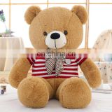 Good quality fancy plush bear toys soft stuffed bear baby plush toy with customized logo