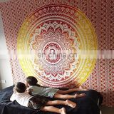 Ombre Blanket bedspread Indian Tapestry Queen Wall Hanging picnic Decor art Indian Mandala Hippie Tapestry Beach Throw Wholesale