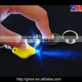 LED key chain with torch
