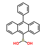 High purity of Boronic acid, B-(10-phenyl-9-anthracenyl)- (CAS 334658-75-2)with best price and best service