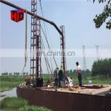 mining mini gold jet suction dredge boat for sale