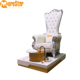 Throne pedicure spa chair massage chair for nail salon MS-HB003