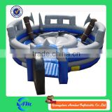 warriors fighting game inflatable jousting arena sports arena