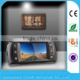 2.7 -inch LTPS highlight color screen Low illumination and high quality video vehicle traveling data recorder