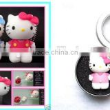 Promotional gift hello kitty shape usb flash drive,cartoon usb stick