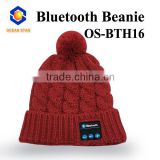 winter custom bluetooth beanie hat with factory price wholesale