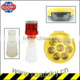Brightness Construction Warning Solar Led Barricade Light