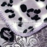 Cheap 100 polyester patterned fleece blanket printed