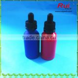 Matt aluminum bottle with dropper cap,Aluminum dropper bottle for cosmetic/daily car/e-juice