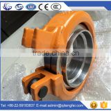 Supplier manufacturer concrete pipe clamp, bolt coupling, stainless steel pipe ST52 clamp