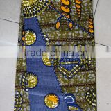 H494100% cotton 6 YARD african wax fabric wholesale                                                                         Quality Choice