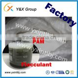 Buy water treatment chemicals anionic polyacrylamide factory price from International chemical industries YXFLOC