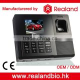 Realand standalone fingerprint access control system RFID card reader time attendence with TCP/IP communication