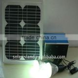 High quality portable 15W solar lighting system