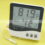 Large LCD storage warehouse digital thermometer-hygrometer