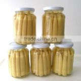 fresh canned baby corn whole in glass jar