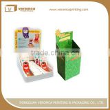 Multifunctional 2 sides advertising display stand