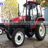 Best quality 2013 hot sale 70hp 4wd small farm wheel widely used tractor