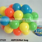 6CM PE plastic Tent Water pool Ocean wave ball, Funny toys