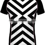 Simple Black and white Stripe style woman cycling jersey cycling wear specialized cycling skinsuit cycling clothing