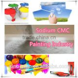 Sodium CMC(Carboxy Methyl Cellulose) used for Painting Industry Purity 95%, 98%