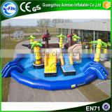 Giant inflatable pirate ship water park slides for sale water park equipment price water fun park