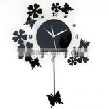 wholedale modern acrylic wall clock different shape available                                                                         Quality Choice