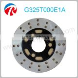 Motorcycle hydraulic disc brake plate