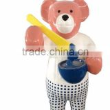 resin cartoon bear statue