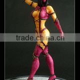 resin hot sexy mask girl statue,moive character resin figurine