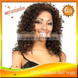 Selling 100% Unprocessed Full Lace Wig & Front Lace Wig Remy Indian Virign Water Wave Human Hair Wigs For Women In Stock