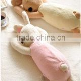 baby hand pillow/baby sleeping rabbit pillow/baby sleeping pillow/baby sleeping bag/baby pillow