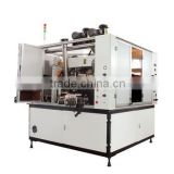 HK200 Two color cosmetic bottles cosmetic jar printing machine Automatic hot stamping machine
