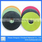 3'' 4'' 6'' 8'' Abrasive diamond polishing floor buffing pads floor polishing pads