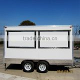 outdoor coffee kiosk with wheels for sale XR-FV390 A